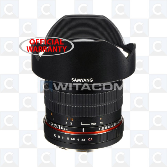 Samyang 14mm Ultra Wide-Angle f/2.8 IF ED UMC Lens for Sony - Black