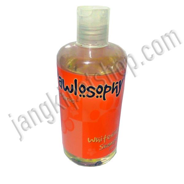harga Sampo untuk anjing/kucing - pawlosophy whitening shampoo - 500ml Tokopedia.com