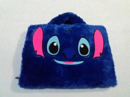 harga Stitch face biru lebat 10  & 11-12inch softcase tas laptop netbook Tokopedia.com