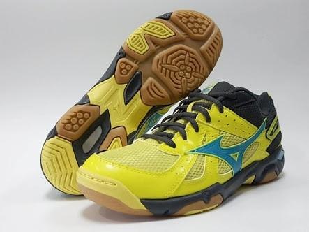 ... harga Sepatu badminton mizuno wave twister 4 - bolt Tokopedia.com 6f35ec806c