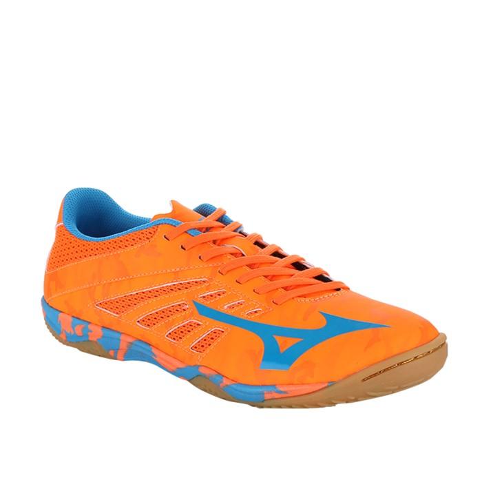 Harga Jual Sepatu Futsal Mizuno Original Basara 103 Sala Black Fiery ... 19ba21f91e