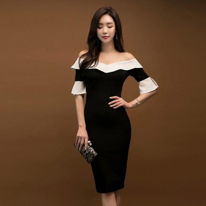 Jual Dress Impor Elegan Gaun Pesta Gaun Malam Good Quality Cw 643 Kota Medan Christian Tung Tokopedia