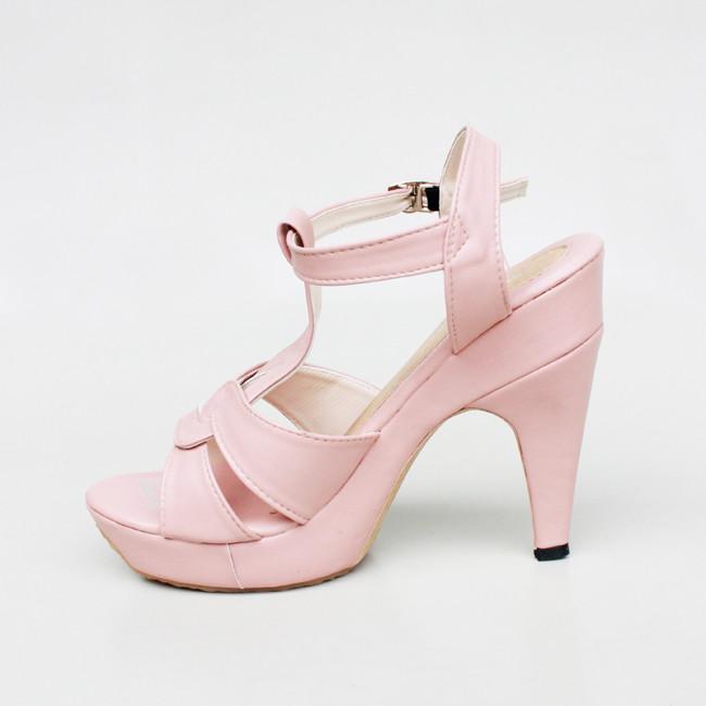 high heels peach