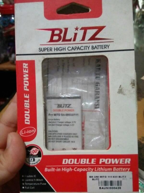 Battery batre baterai mito ba-00033 111 ba00033 mito111 033 ba033 mini