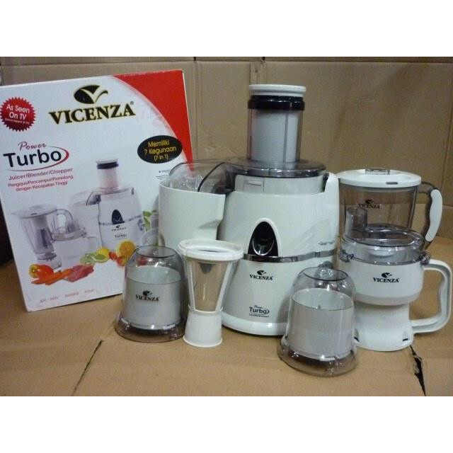 harga Blender juicer turbo 7 in 1 vicenza vt 337 Tokopedia.com
