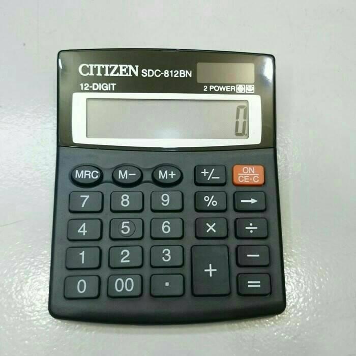 ... harga Alat menghitung kalkulator citizen ct-812bn 12 digit termurah.  Tokopedia.com e395cbe7ca