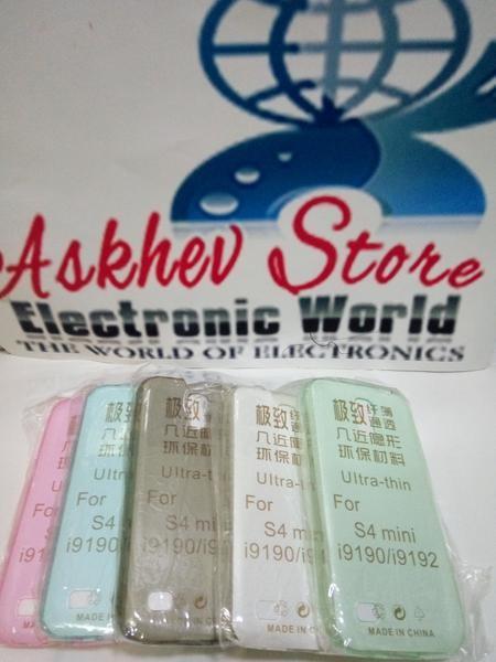 Foto Produk Ultrathin Samsung S4 mini Softcase ultra Thin silikon Case dari AAA store