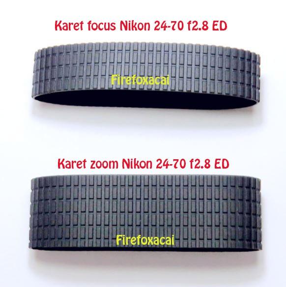 harga Paket karet zoom dan fokus lensa nikon 24-70 f2.8g oem rubber grip Tokopedia.com