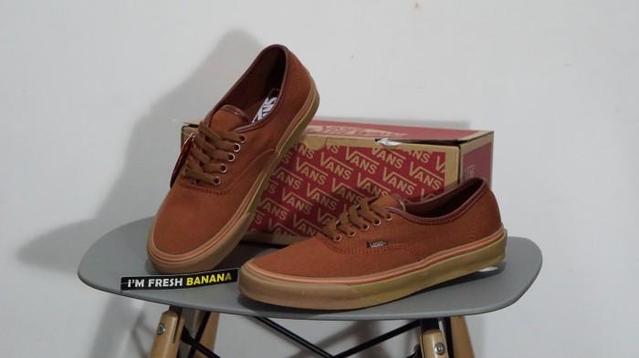 Jual sepatu vans authentic brown cek harga di PriceArea.com 509d074bfe