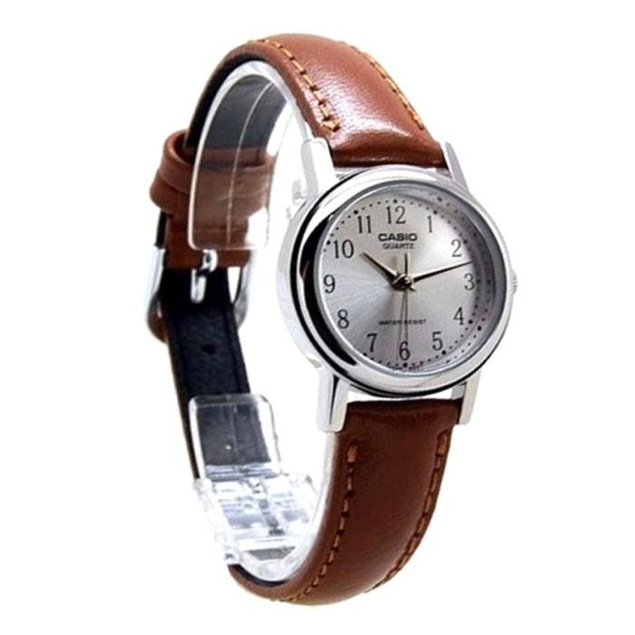 harga Jam tangan wanita analog strap kulit casio original ltp-1095e-7b Tokopedia.com