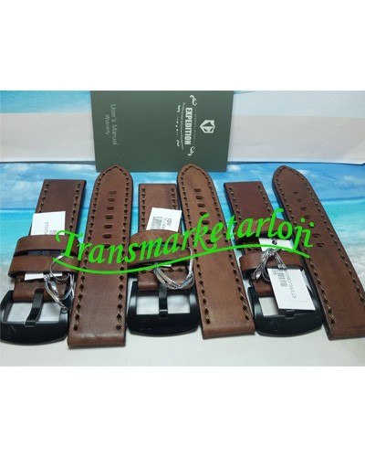 harga Tali kulit jam tangan pria expedition brown original murah Tokopedia.com