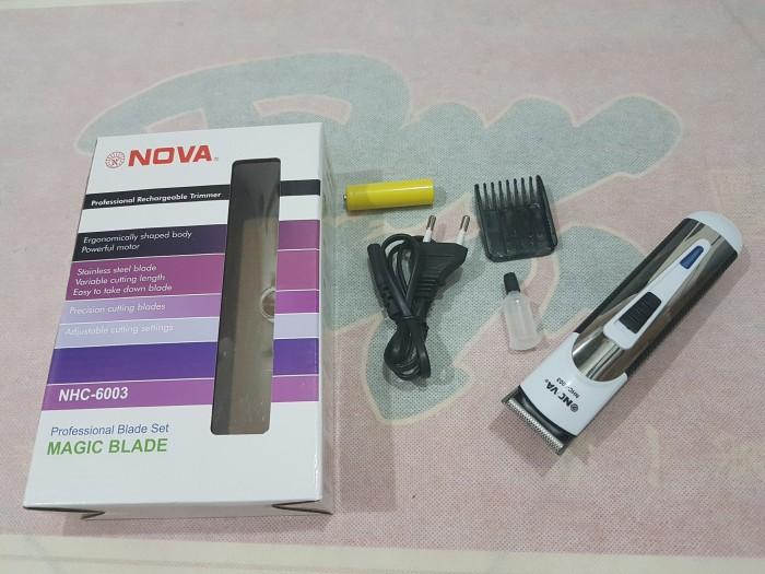Nova Alat Cukur Rambut Nhc 6003 - Daftar Update Harga Terbaru dan ... 240f64fd6e