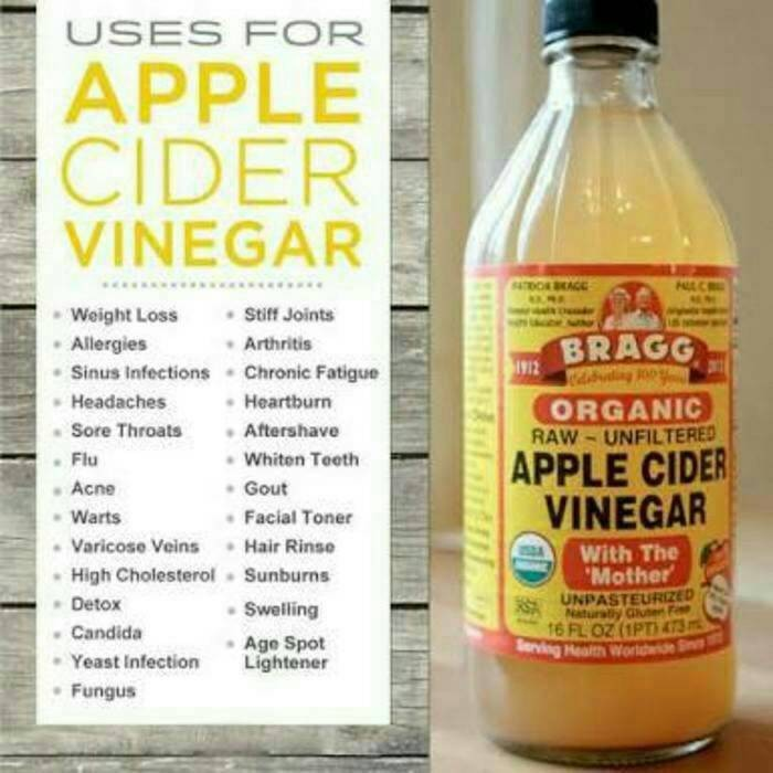 ... harga Bragg cuka apel / apple cider vinegar / cuka apel organik 946ml Tokopedia.com
