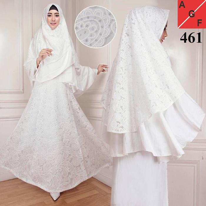 Kedai Baju Pakaian Muslim   Baju Muslim Murah Syari Hijab   Gamis Rana  Tosca. Source · Harga Kerudung Syari Terbaru Januari 2018 Geraiharga Cari Gamis  Putih d1bf6a388f