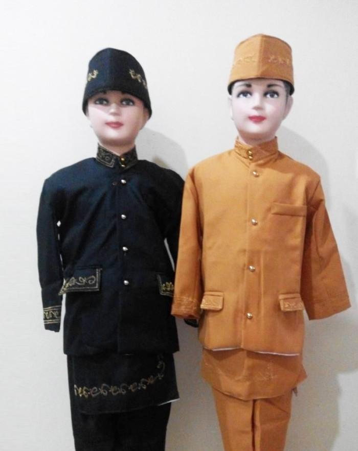 harga Baju beskap adat sunda anak laki - laki ukuran l Tokopedia.com