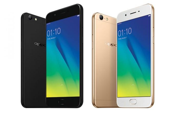 Jual Oppo A57 3 32 Gold Black Martha Cellular Tokopedia