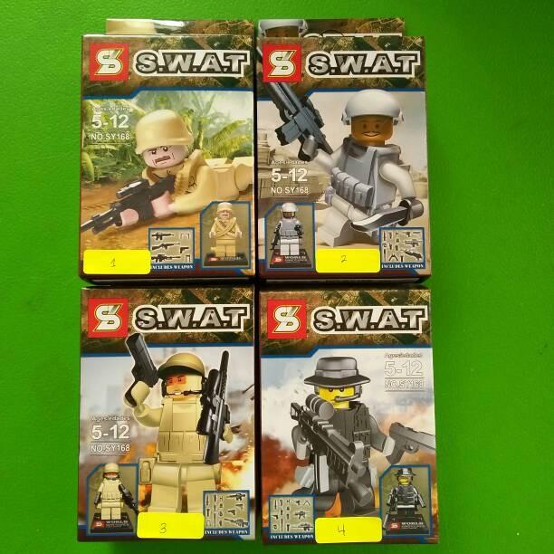 Jual lego kw minifigure swat hijau - Kota Bekasi ...