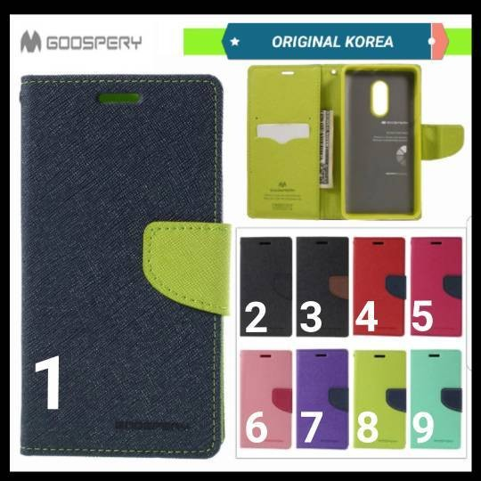 Xiaomi Redmi Note 3 Original Korea Mercury Goospery Fancy Diary Case .