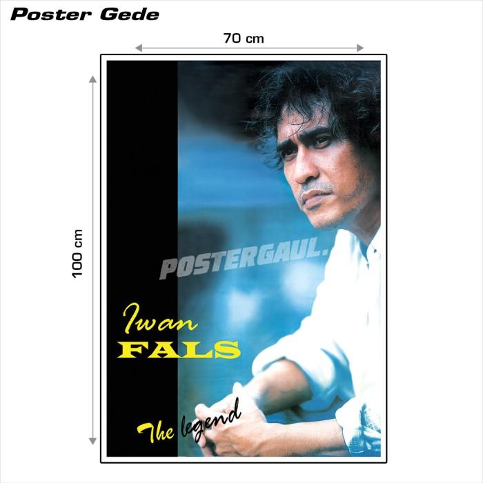Jual Poster Iwan Fals 08b Gede 70 X 100 Cm Jakarta Barat