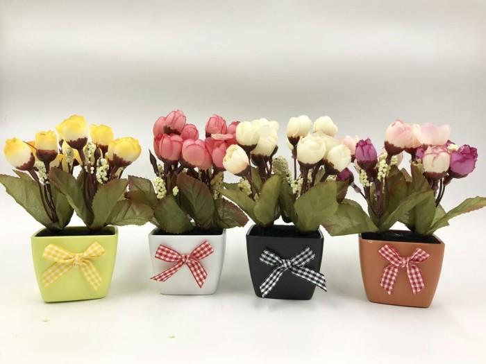 Jual Souvenir Pot Bunga Plastik dengan Pewangi 10ml - Premium Gift ... 8b7d8fd47b