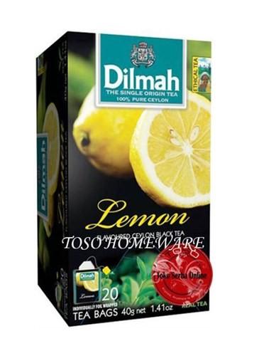harga Teh dilmah lemon tea dilmah tea envelope teh celup - 20 teabags Tokopedia.com