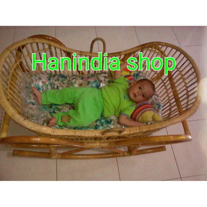harga Free ongkir ayunan bayi rotan/box bayi rotan model perahu Tokopedia.com
