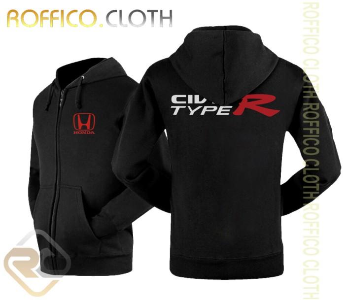 harga Jaket hoodie zipper mobil honda civic type r 2017 - roffico cloth Tokopedia.com