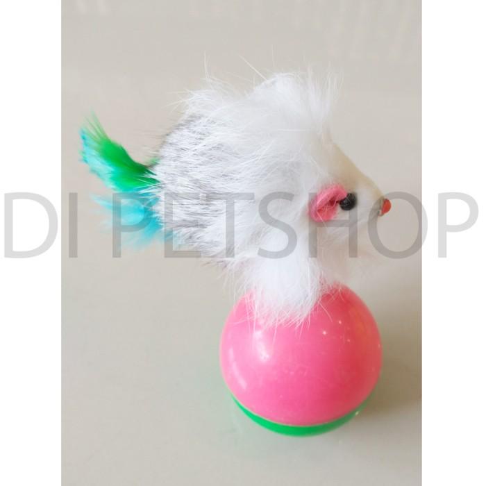 harga Mainan bola kucing / bola tikus Tokopedia.com