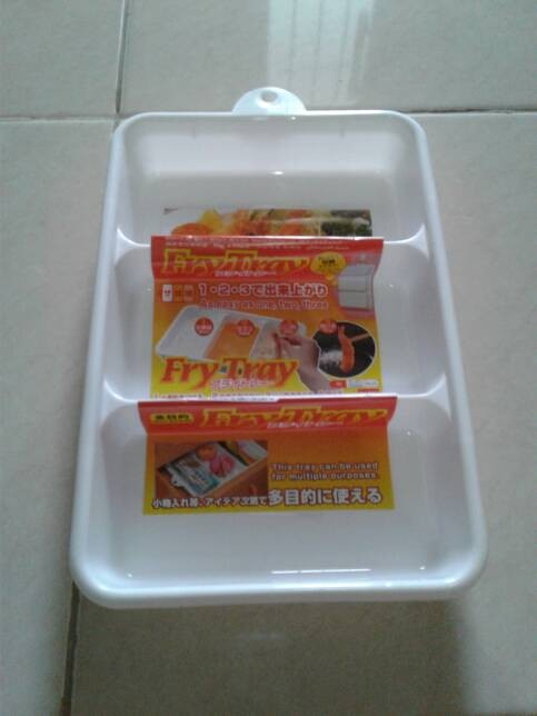 harga Daiso fry tray nampan/baki plastik untuk bumbu masak Tokopedia.com