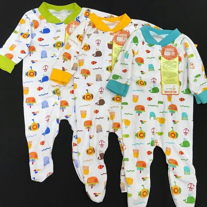 52 Contoh Baju Bayi Jumper Lengan Panjang Paling Bagus