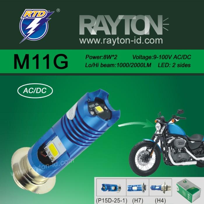 Jual Lampu Utama Headlamp LED RTD M11G Original - RTD ACC  a6f6a4327b