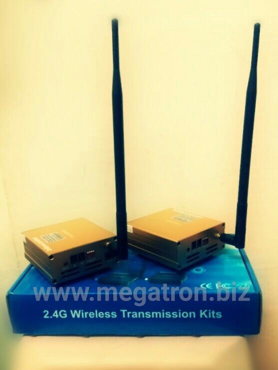 harga Wireless audio video sender 4 watt (pemancar - penerima) Tokopedia.com