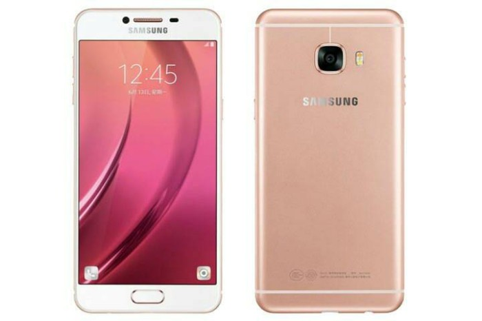 Samsung Galaxy C5 RAM 4GB - ROM 32GB Rose Gold Garansi 1 Tahun