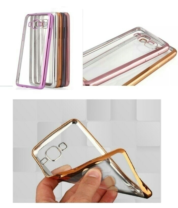 Case Chrome Sony Xperia M2 /TPU/Softcase/Ultrathin Limited