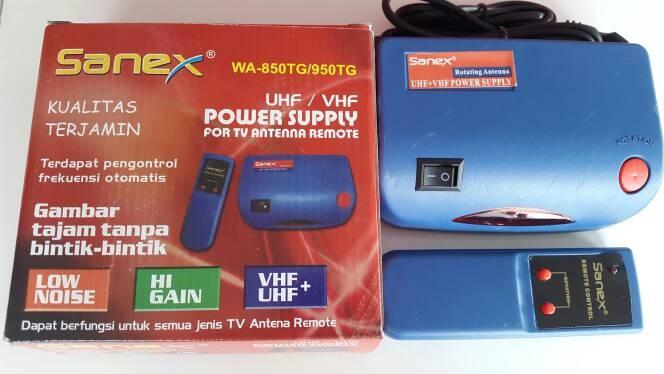 Jual Booster antena remote booster tv power supply antena tv UHF/VHF SANEX  - Kota Cilegon - Kezia Bangunan | Tokopedia