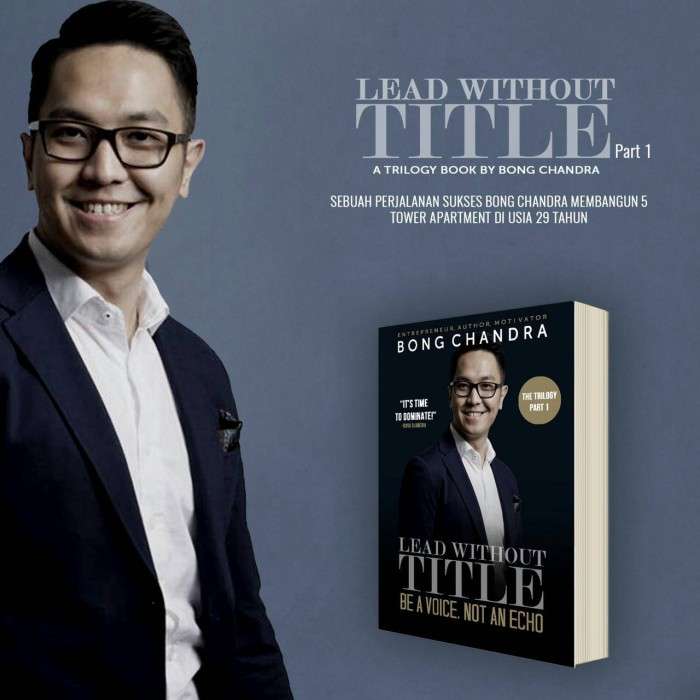 harga Buku lead without title by bong chandra Tokopedia.com