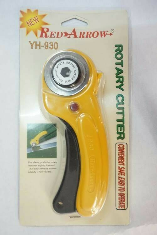 harga Rotary cutter 45mm red arrow yh 930 alat potong bahan kain Tokopedia.com