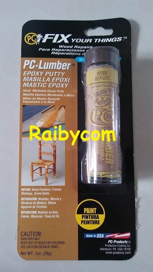 Foto Produk Lem PC 11 Lumber Epoxy Putty Perbaiki Kayu Furniture Mebel Wooden dari Raibycom