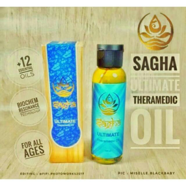Sagha Avaloka Ultimate Theramedic Oil Minyak