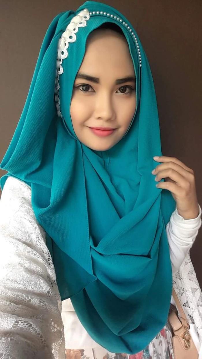 Jual Hijab Kerudung Jilbab Pashmina Instant Pwp Tiara Hijabers