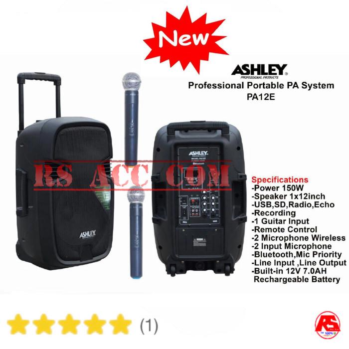 harga Speaker portable pa12e 12inch meeting dua new mic Tokopedia.com