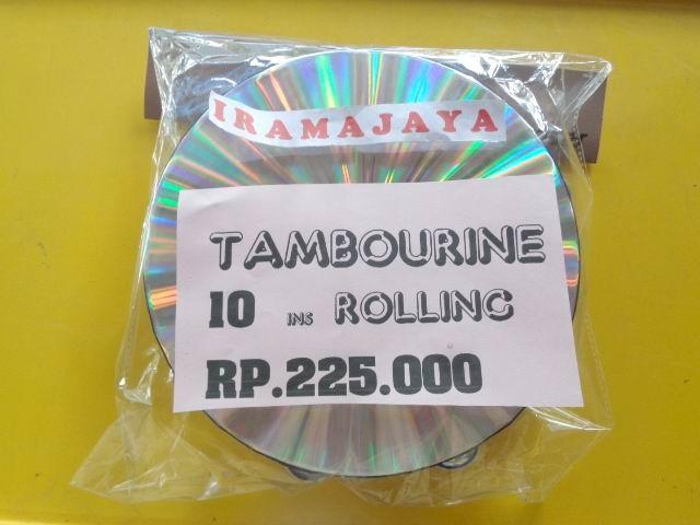 harga Tambourine hologram rolling 10 inch Tokopedia.com