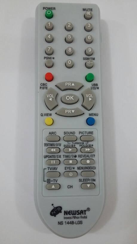 harga Newsat ns1448-lgs for lg remote control tv crt / tabung - remot multi Tokopedia.com