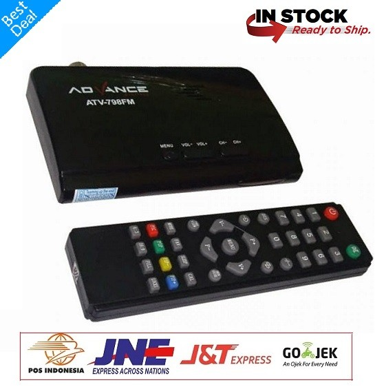 harga Tv tuner advance atv-798fm led lcd crt tv box Tokopedia.com