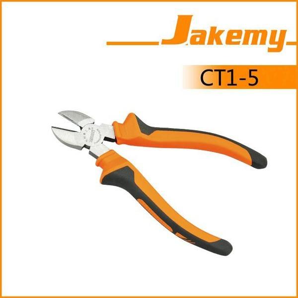 Jakemy jm-ct1-5 8 inch hardware tool non-slip diagonal plier