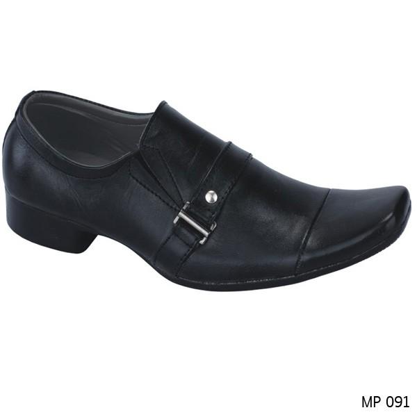 Catenzo Sepatu Formal Pria MP 091 - Black