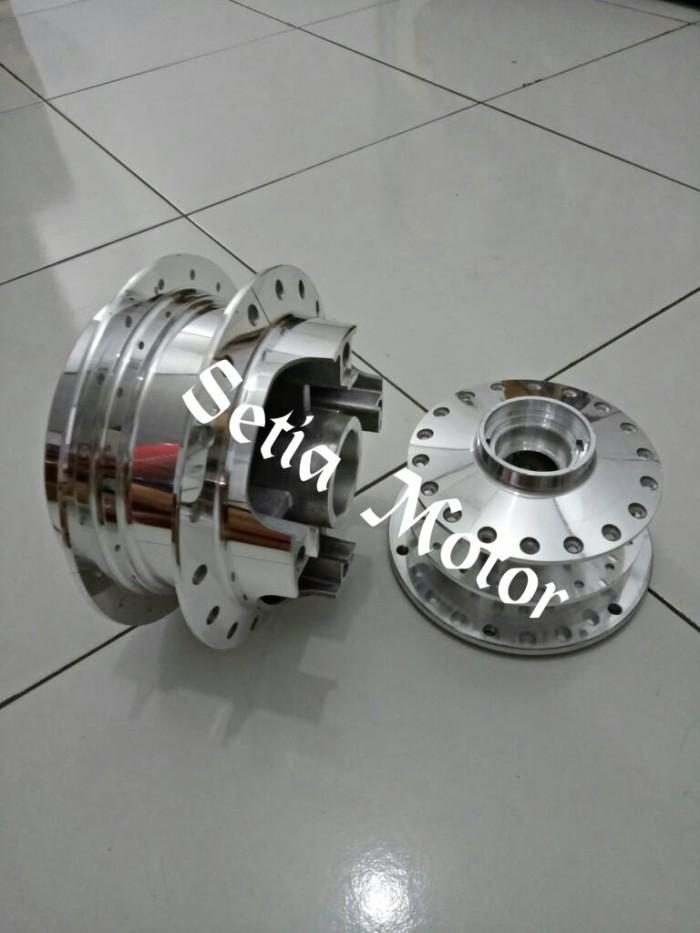 harga Tromol crome honda cb 150 r - cb150 - megapro double disc Tokopedia.com