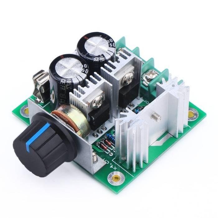 harga Dimmer dc 10-40v 10a 400w for motor dan led pwm controller speed light Tokopedia.com