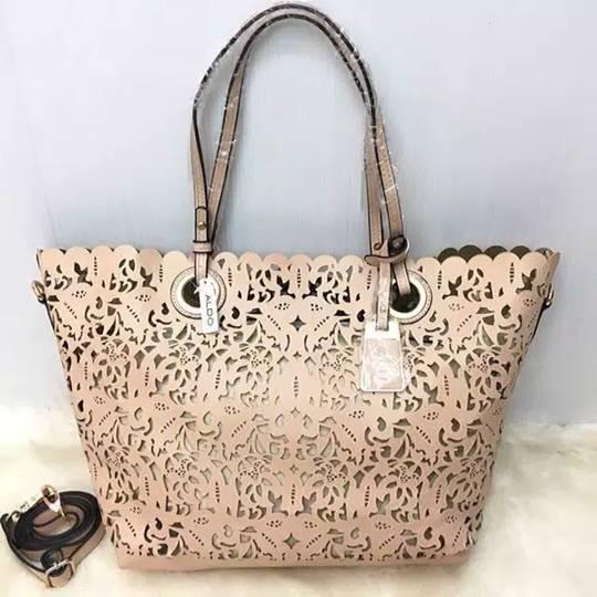 c5dc31f2fd7 Tas ORIGINAL Branded Aldo Montemesola Perforated Tote Bag Import Murah