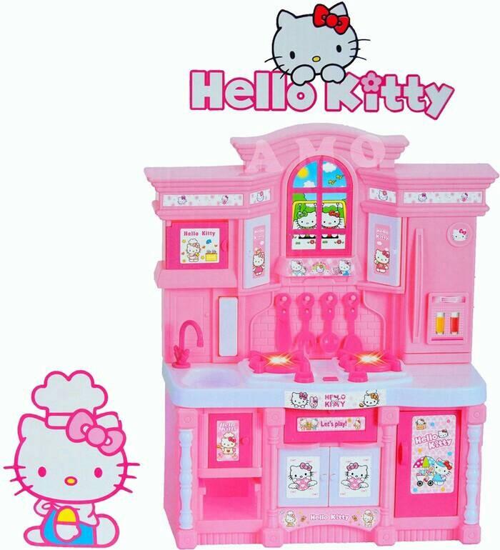 Jual Perlengkapan Masak Plus Barbie Mainan Kado Anak Jakarta Pusat Elunabeauty Tokopedia